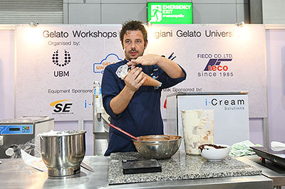 Gelato Activities by Carpigiani Gelato University